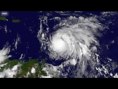 Tropical Storm Maria strengthens into Category 1 hurricane