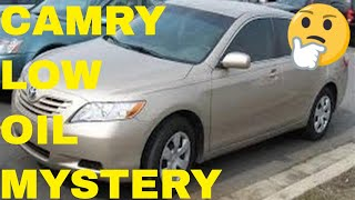 Excessive Oil Consumption/Oil Consumption Test On 2007 Toyota Camry 2.4 , 4 Cylinder Engine