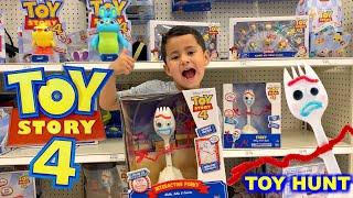 TOY STORY 4 MOVIE TOYS - FORKY, Bunny, Ducky, Duke Caboom, Interactive Forky, Toy Story 4 TOY HUNT