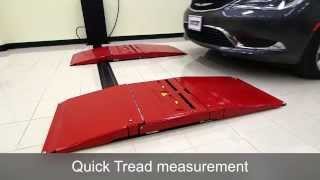 Quick Check Alignment System with Quick Tread Tread Depth System by Hunter Engineering