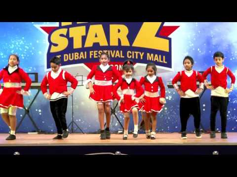 Ocean Kids - Dubai Festival City - KIDZSTARZ EVENT - Dance Performance
