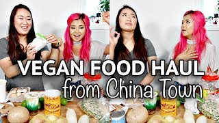 CHEAP VEGAN (ASIAN) FOOD HAUL with THE VIET VEGAN