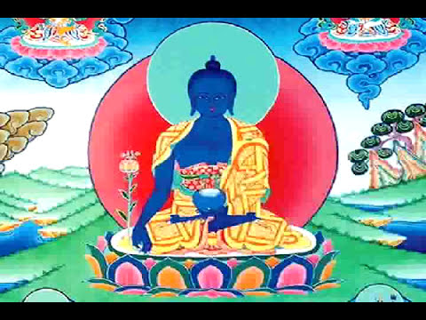 Lama Zopa Rimpoché canta el mantra del Buda de la Medicina (Medicine Buddha Rinpoche)