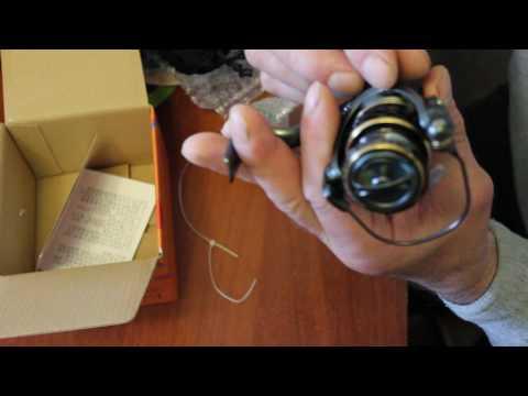 спиннинговые катушки на алиэкспресс видео обзор