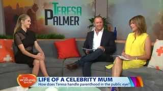 Teresa Palmer Interview on 'The Morning Show' Australia