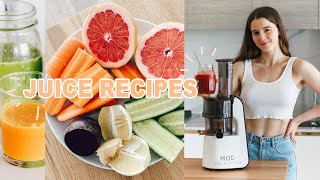 3 JUICE RECIPES FOR HEALTHY GLOWING SKIN & IMMUNITY ✨