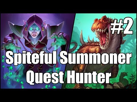 [Hearthstone] Spiteful Summoner Quest Hunter (Part 2)