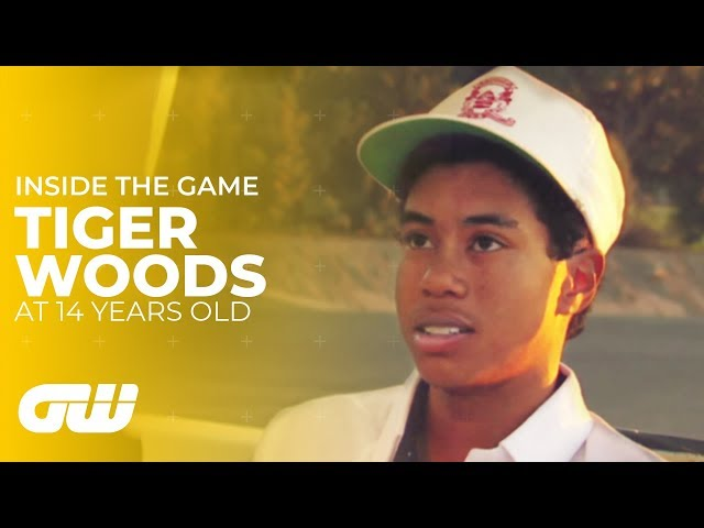Tiger Woods - Interview at 14 Years Old