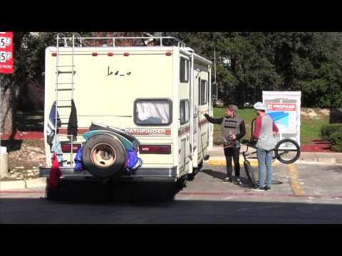 British Embassy Park up Ride in RV trip 2014