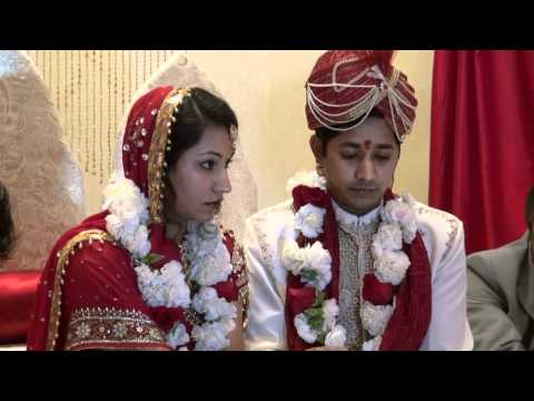 0 Beautiful, Indian, Romantic traditional Hindu Wedding Video   Skilled, professional Videographers