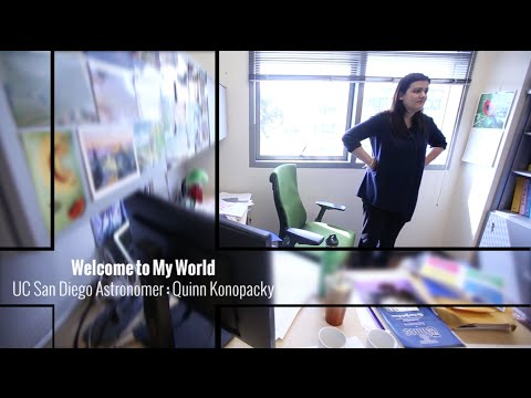 Welcome to my world: Astronomer Quinn Konopacky