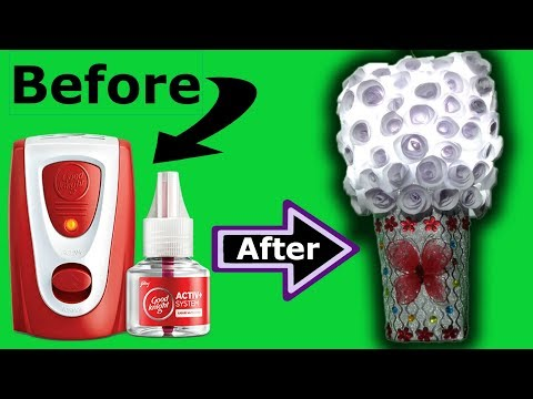 How to Make Wall Lamp From Waste Good Knight Machine Ideas By Jhilmil | Fashion & Design | Apoorvi
