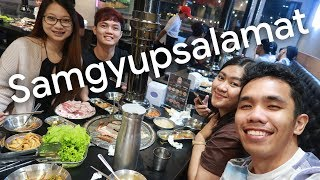 SAMGYUPSALAMAT (BF HOMES) with FRIENDS! | VLOG