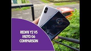 Xiaomi Redmi Y2 vs Moto G6 Comparison- Camera, Software and Performance