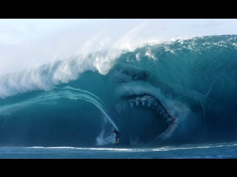 real megalodon captured on camera 2015??! (proof and