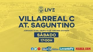 Villarreal C vs At. Saguntino