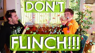 DON'T FLINCH CHALLENGE WITH ALFIE
