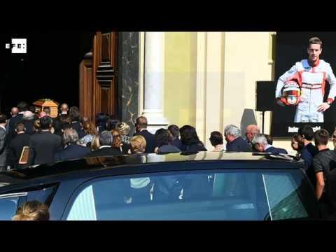 La Fórmula  1 despide en Niza a Jules Bianchi