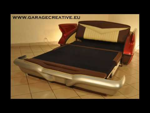 garage creative, furniture, automotive , design, art.wmv