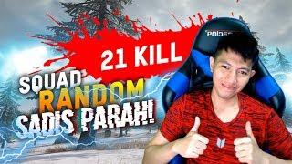 DAPAT SQUAD RANDOM SKILL NYA DEWA - PUBG MOBILE INDONESIA
