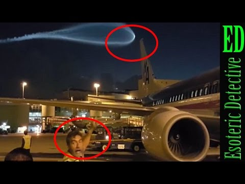 Strange UFO seen over airport freaks out runway ground staff