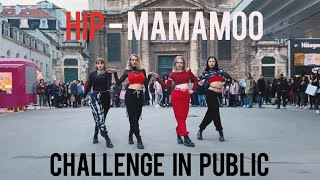 [KPOP IN PUBLIC CHALLENGE BRUSSELS] 마마무(MAMAMOO) - HIP Dance cover by Move Nation from Belgium
