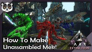 How To Make Unassembled Mek | ARK: Extinction