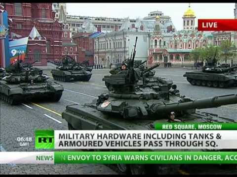 Full video: Red Square 2012 military parade