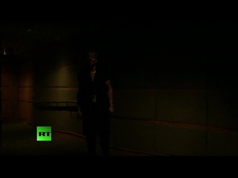 RAW: State Dept. plunges into darkness when reporter asks about Iran