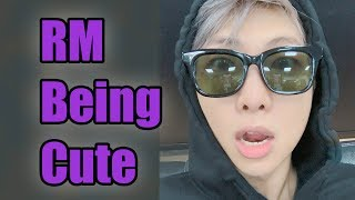 RM Being Cute