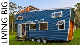 Tiny House With Amazing Pop Up Roof