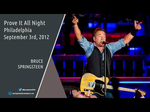 Bruce Springsteen | Prove It All Night - Philadelphia - 03/09/2012 (Multicam mix/Dubbed audio)