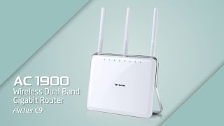 TP-LINK AC1900 Wireless Dual Band Gigabit Router (Archer C9) Introduction Video