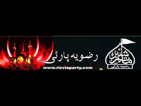 Ali Zia Rizvi. Zainab (as) Nay Kaha Baap. video
