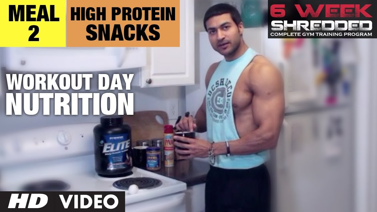 Workout Calendar By Guru Mann : Meal high protein snacks workout day nutrition