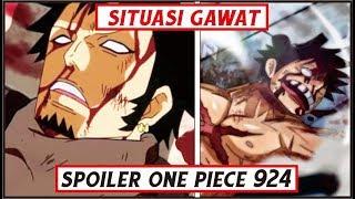 """Awas Spoiler!! One Piece CP.924 """"Law kehilangan kekuatan & Luffy ditangkap"""""""