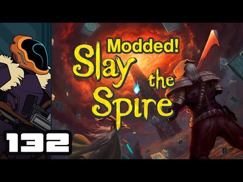 Let's Play Slay The Spire [Modded] - PC Gameplay Part 132 - Oh No Necromancer!