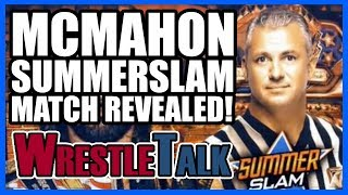 Shane McMahon Summerslam Match REVEALED! | WWE Smackdown Live, Aug 1, 2017 Review