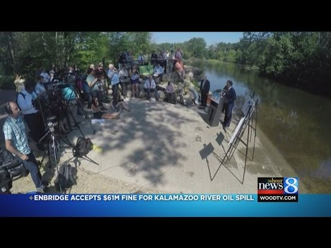 Enbridge accepts $61M fine for Kalamazoo River oil spill
