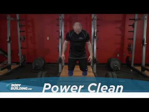 Power Clean - Back & Legs Exercise - Bodybuilding.com Image 1