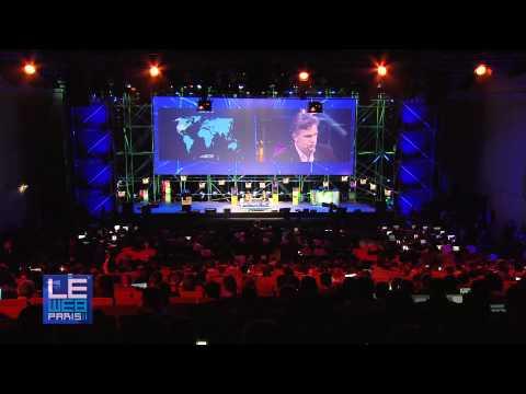LeWeb 2011 Axel Dauchez, CEO, Deezer and Becky Anderson, CNN
