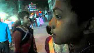 Latest 2015 Diwali Puja Mela Deshi Young Girl open Round Story