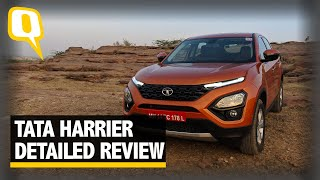Tata Harrier Detailed Review - Worthy Jeep Compass & XUV500 Rival? | The Quint