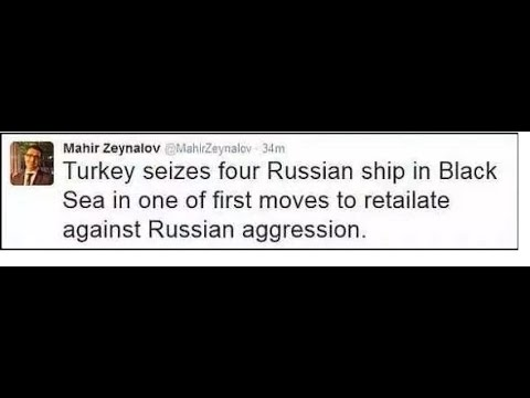 Turkey Seizes 4 Russian Ships Moscow about to move In
