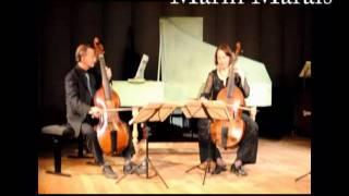 Marin Marais Gigue Suite en ré mineur deux violes et basse