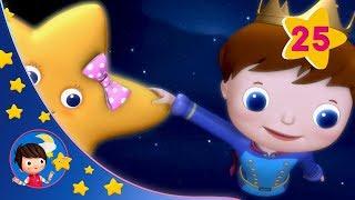 Sleeping Baby | Twinkle, Twinkle Little Star - Pt. 2 | Kids songs | Nursery Rhymes | Little Baby Bum