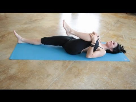 Watch This 9-Minute Yoga Routine Will Help You Ditch Lower-Back Pain video