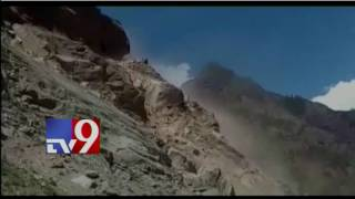 Landslide affects 'Chardham Yatra' on Badrinath route in U'khand - TV9