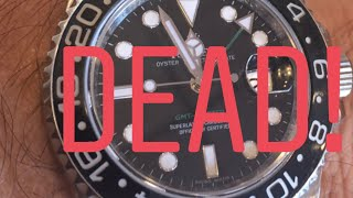 Rolex killed the Black GMT