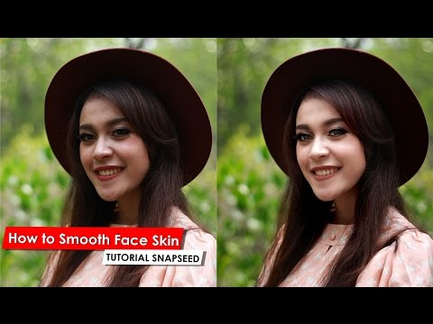 How to Smooth Skin Face with Snapseed for Android